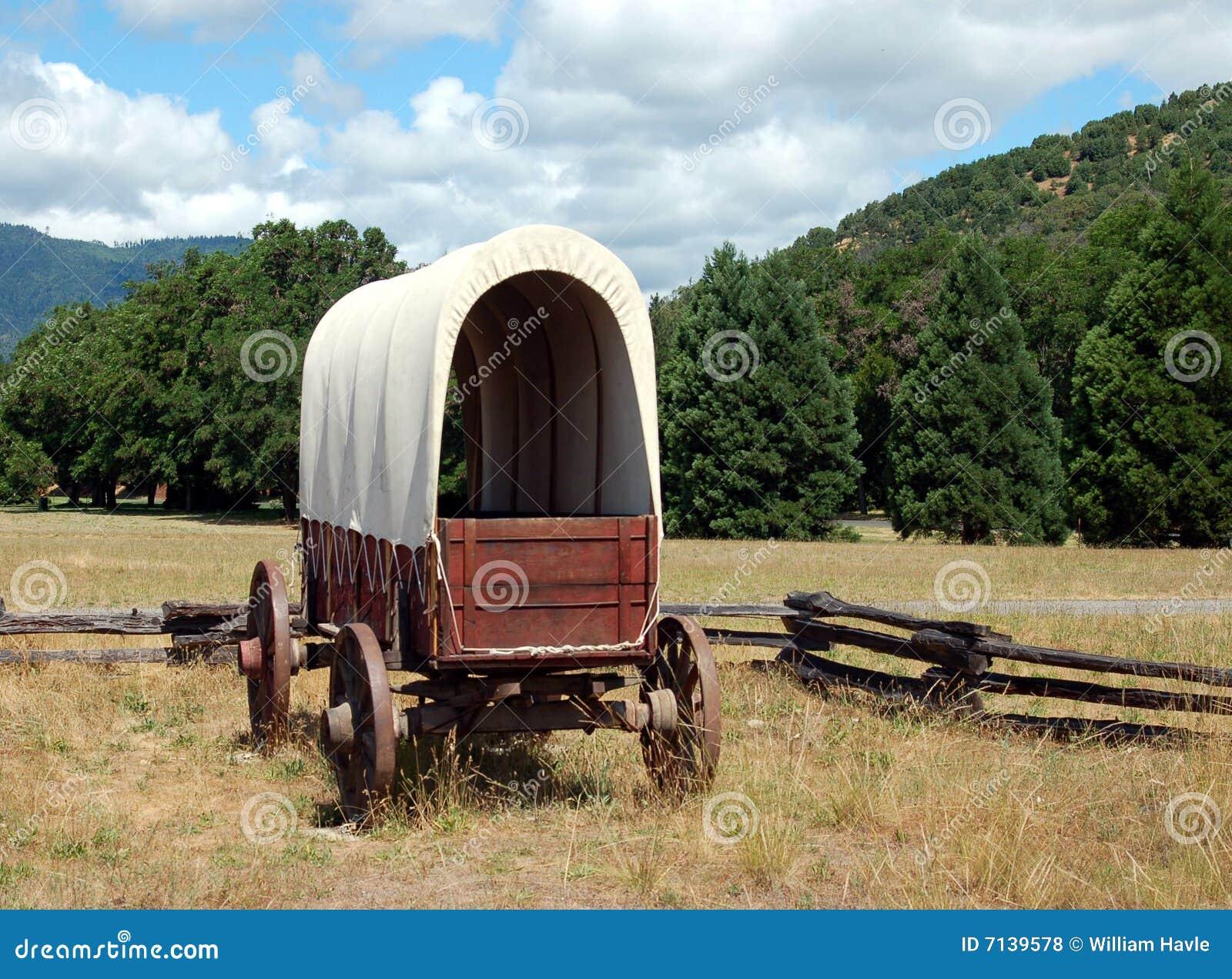 Wagon on the range