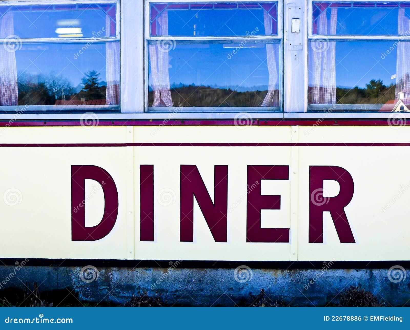Wagon-restaurant américain