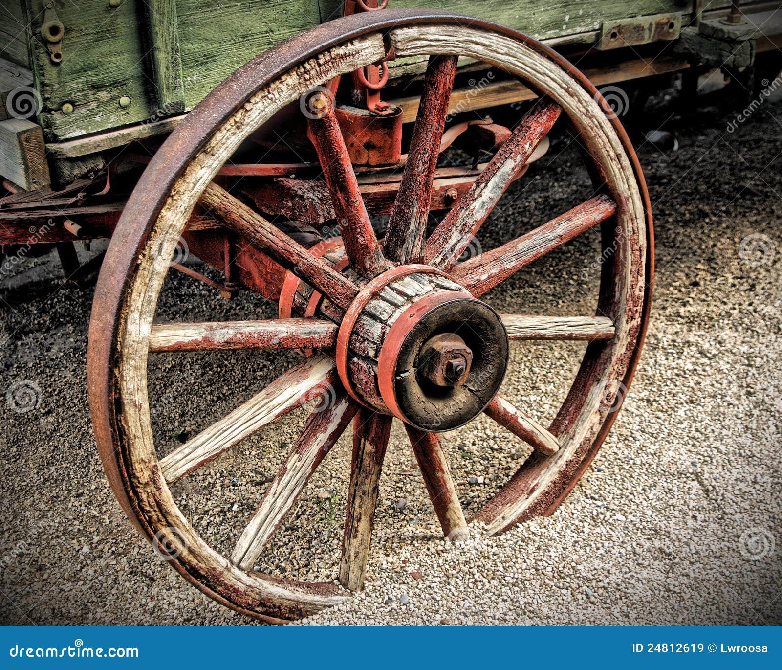 Wagon Wheel in HDR