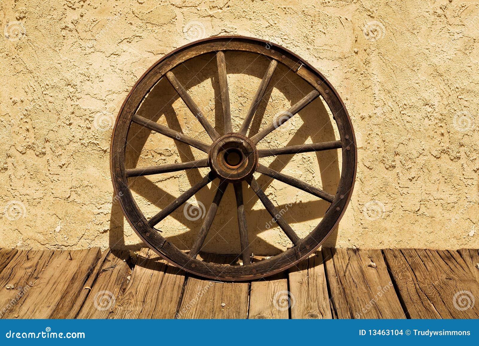 Western Wagon Wheel Clip Art Wagon wheel of the old west