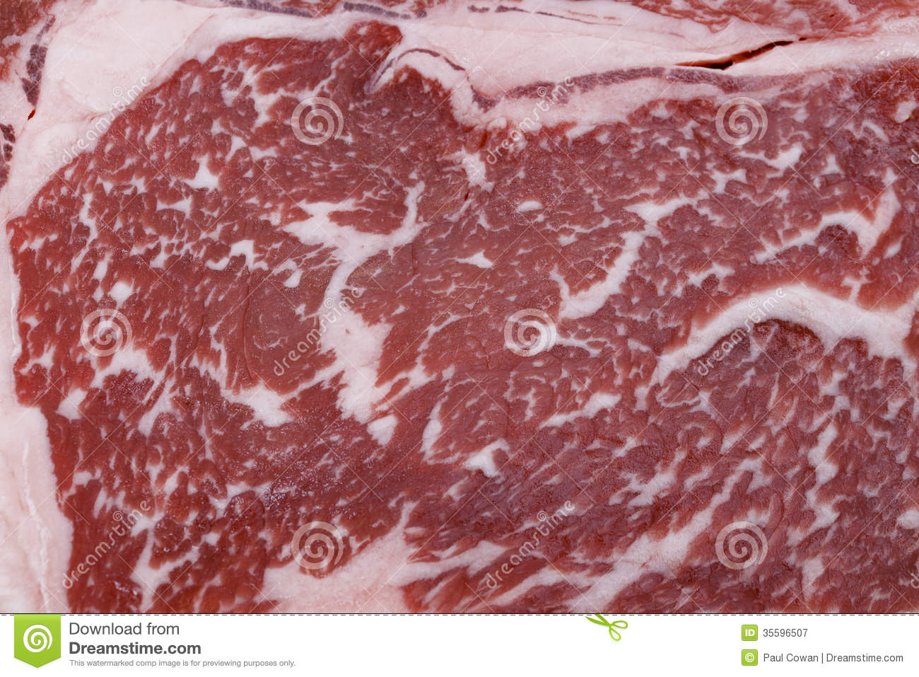 Wagyu Beef Steak Marbling Royalty Free Stock Photography