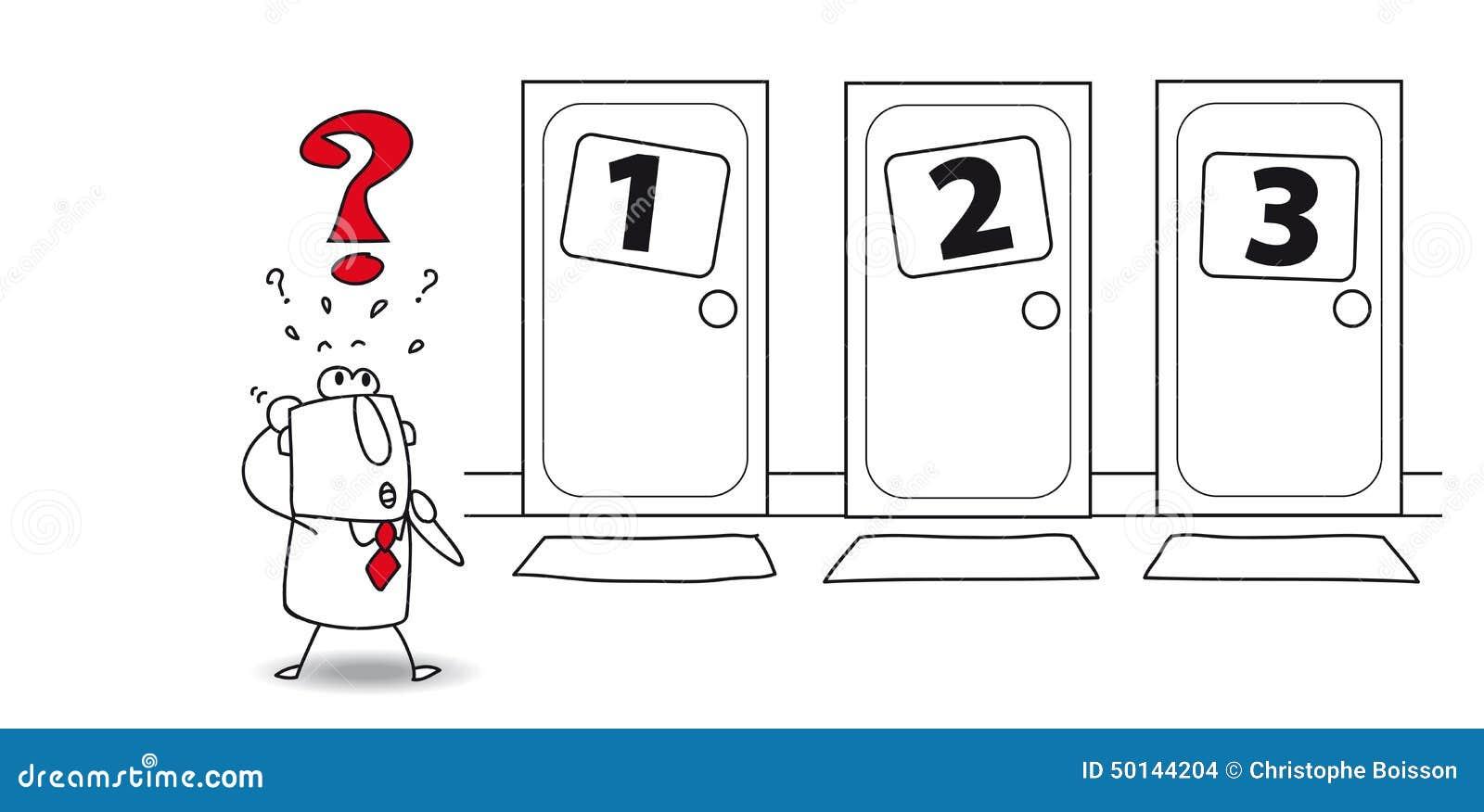 Wahl an der Tür