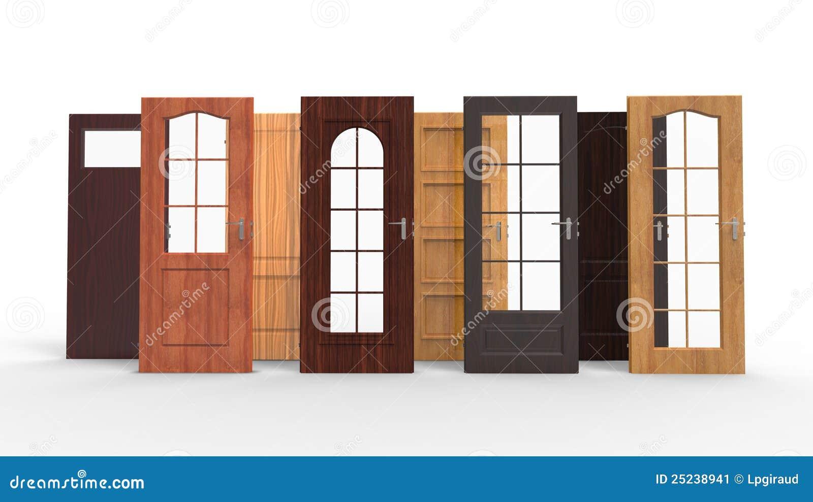 Wahl für eine Tür