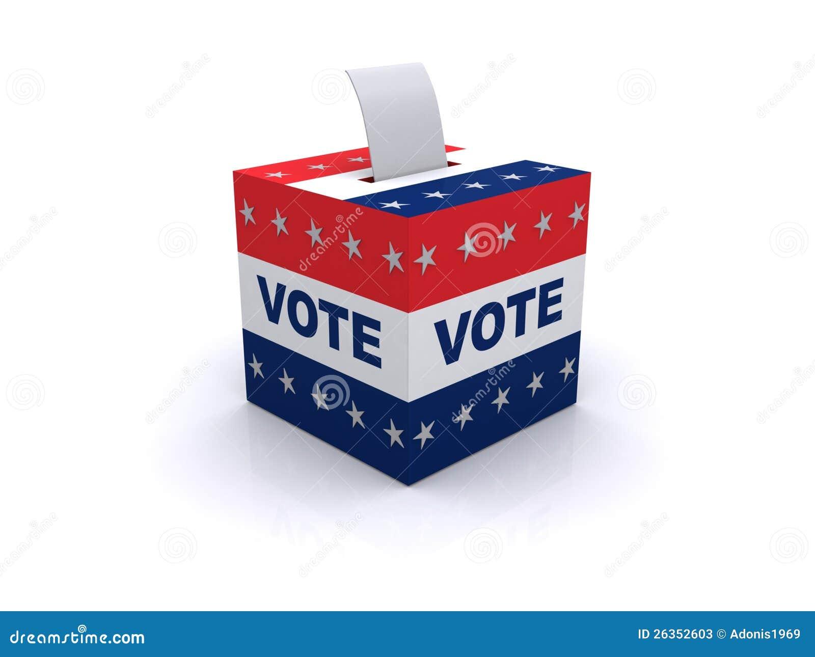 Wahlstimmzettel