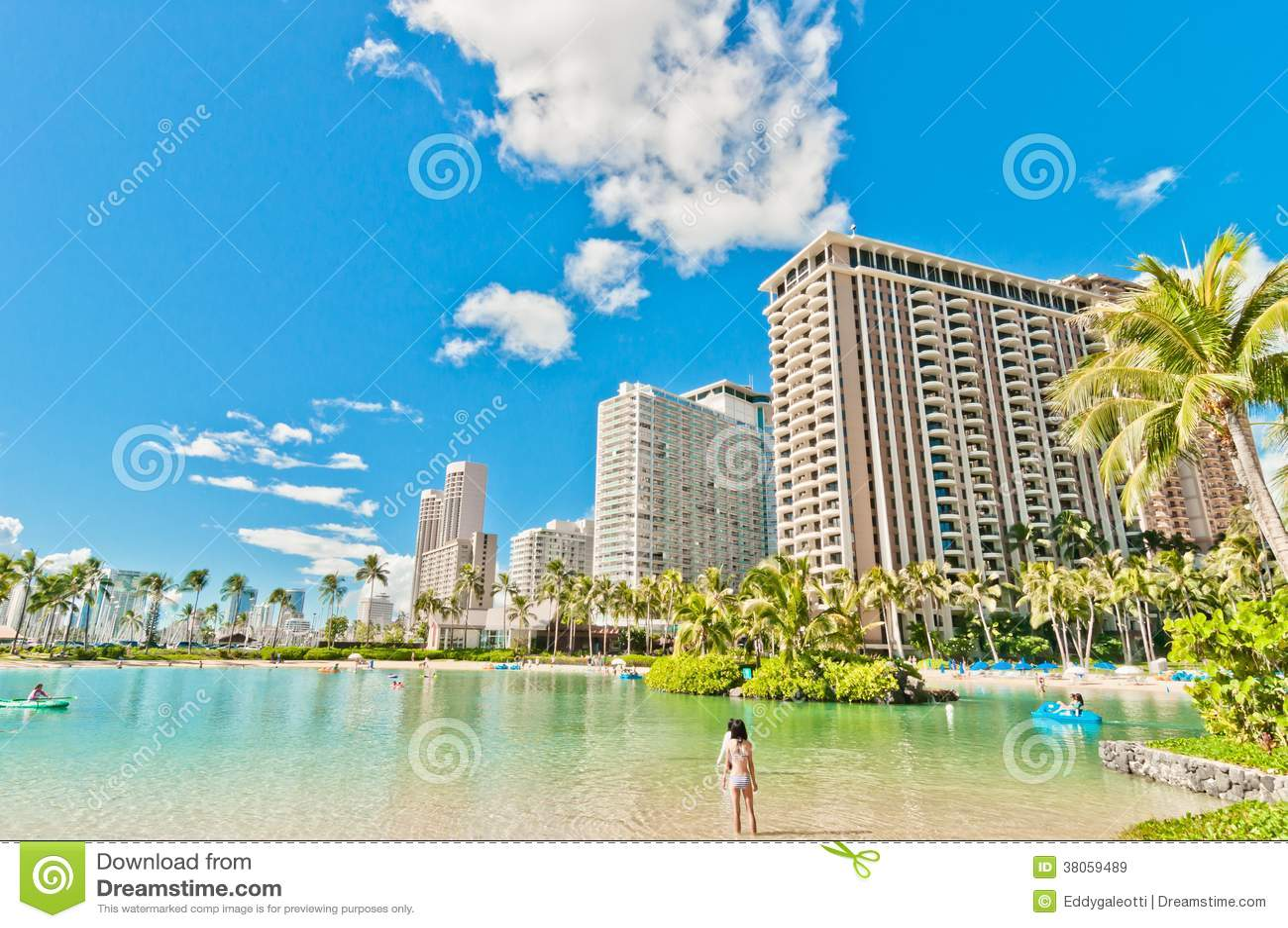 honolulu waikiki beach: