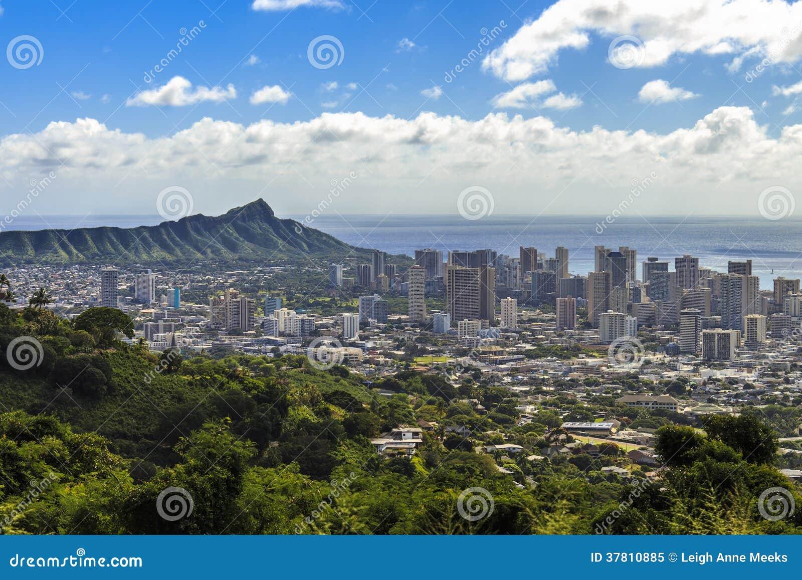 Waikiki en Diamond Head