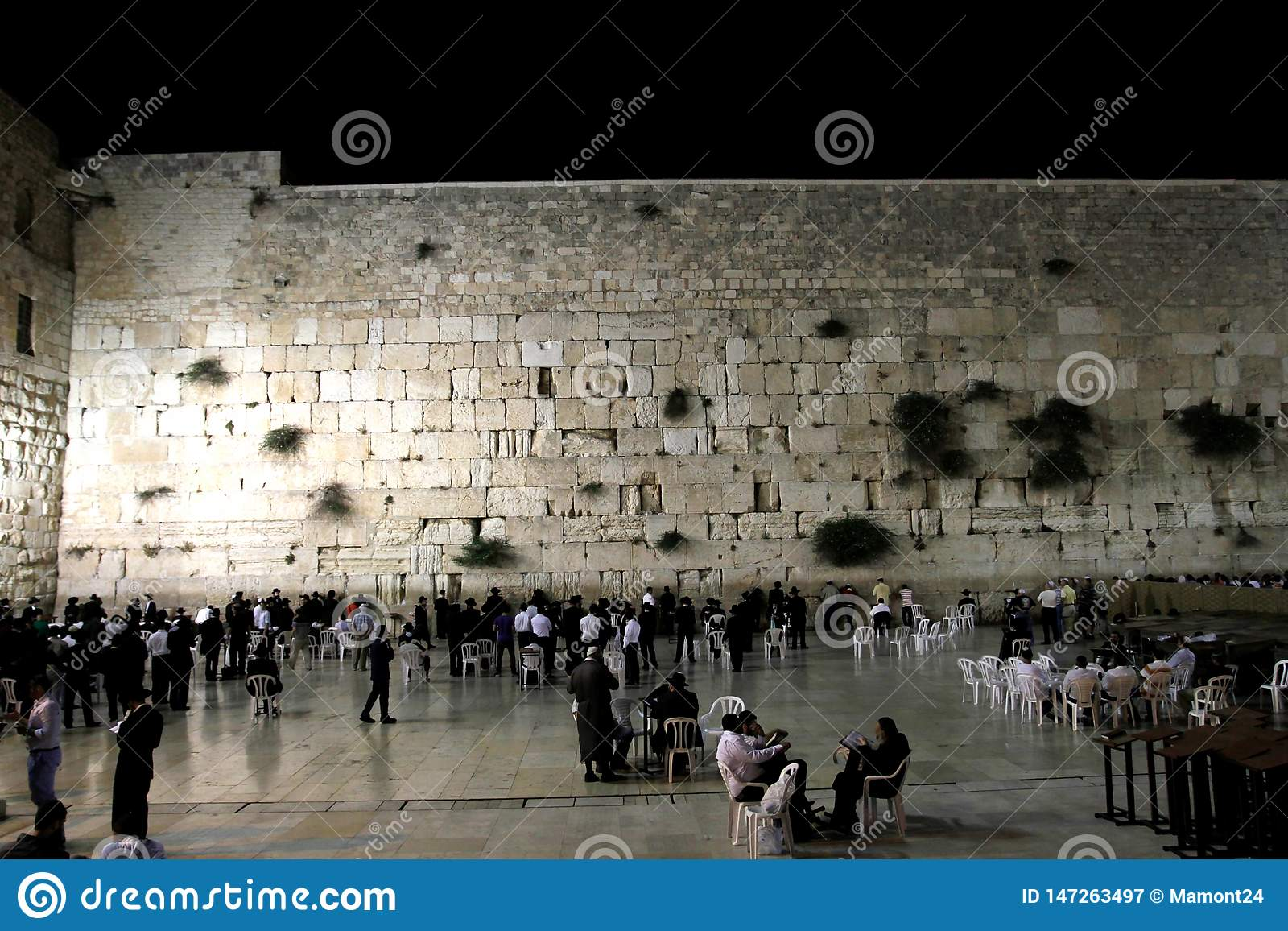 The Wailing Wall The Evening