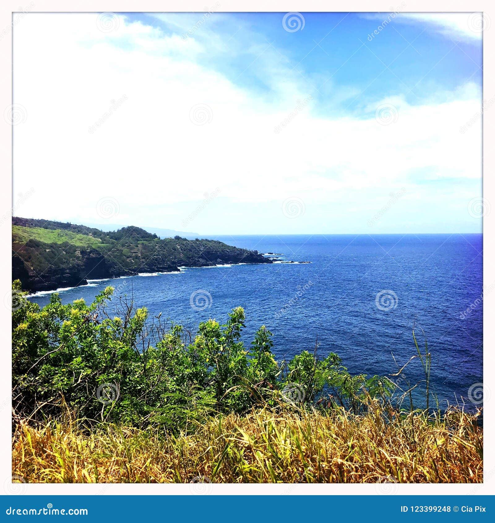 Wailukukustlijn in Maui