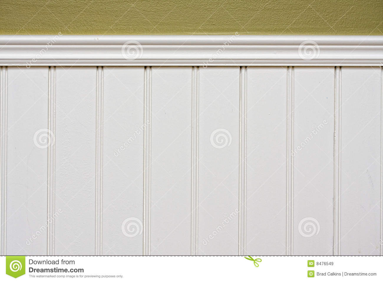Wainscoting Stock Image Image Of Boards Groove Painted