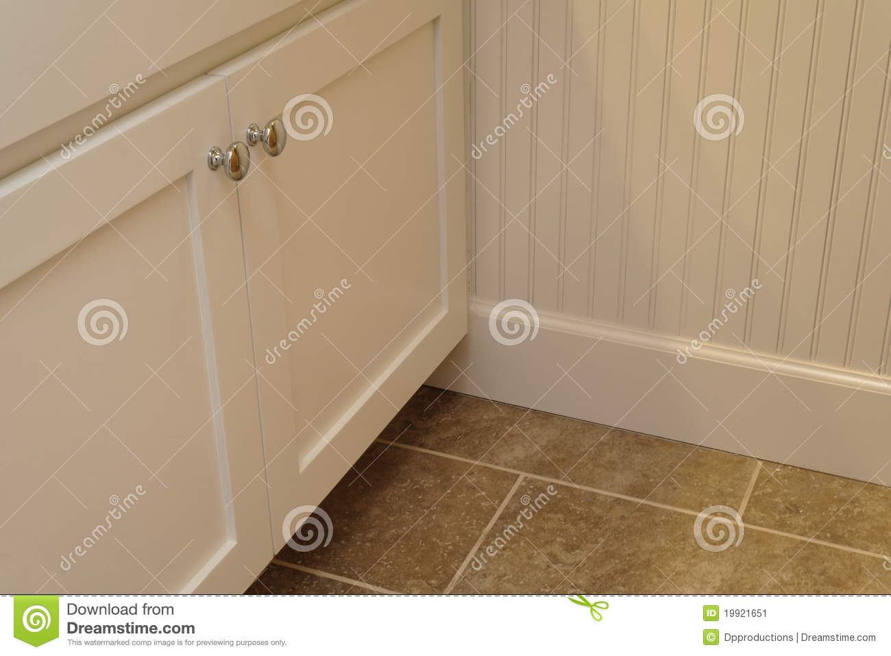 Wainscoting And Cabinets Stock Image Image Of Cabinet 19921651