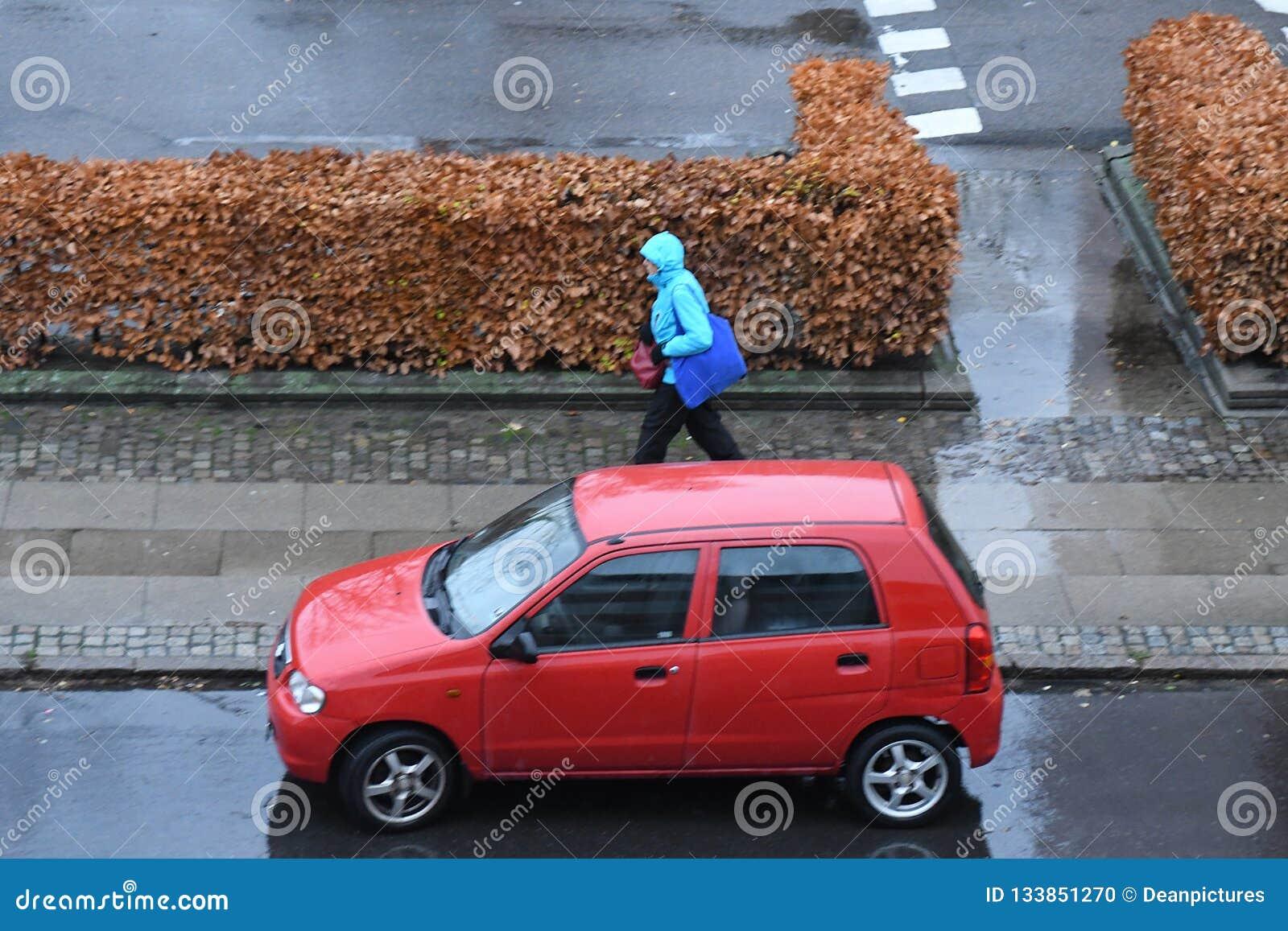 Wainy Weather In Danish Capital Copenhagen Denmrk Editorial Image