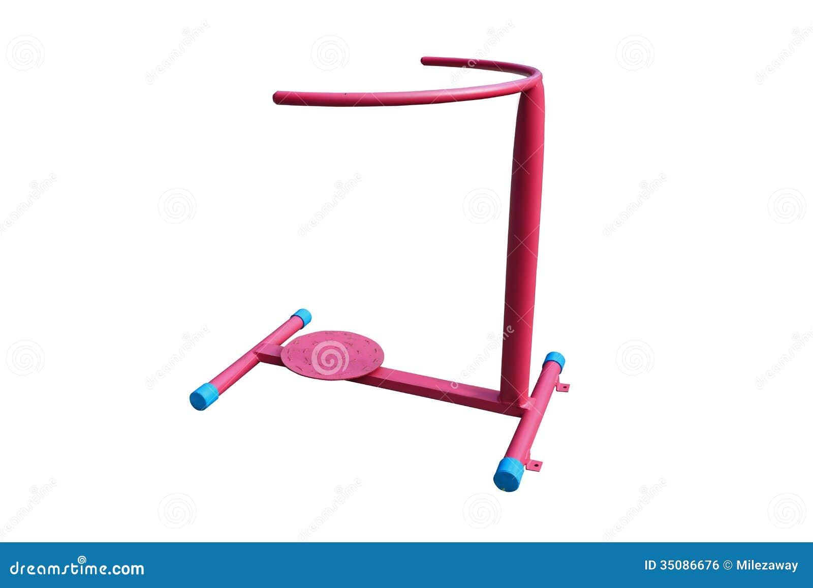 waist exercise machine
