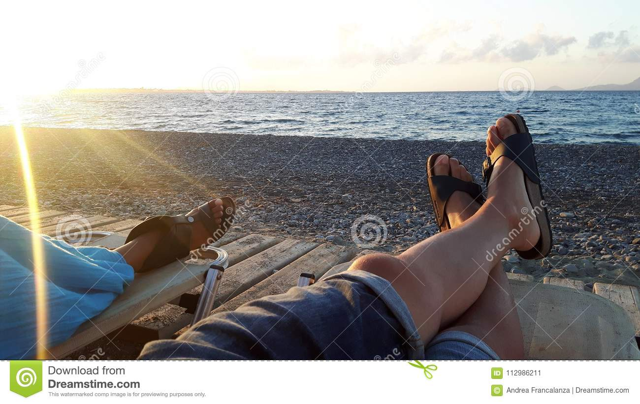 Sun sea and relax