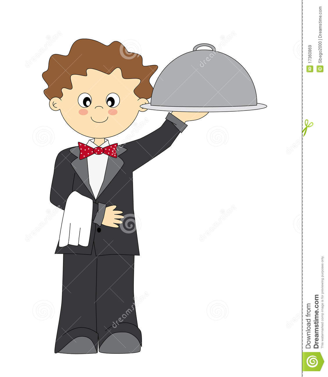 Waiter Royalty Free Stock Images - Image: 17360869