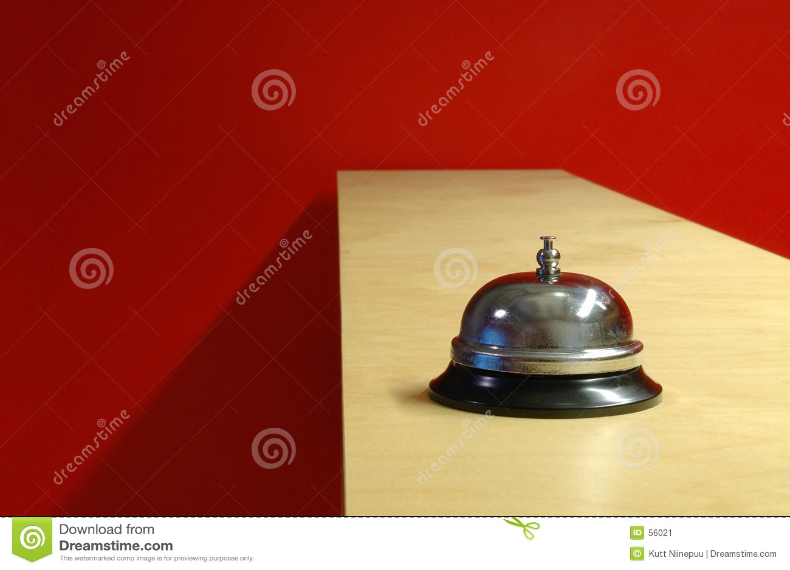Waiter bell (horizontal)