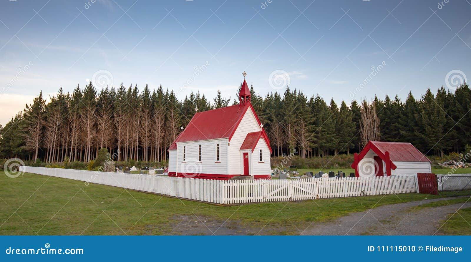 Waitetoko-Kirche bei Waitetoko Marae