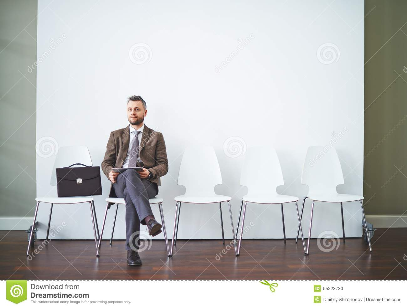 waiting for interview stock photo  image of entrepreneur