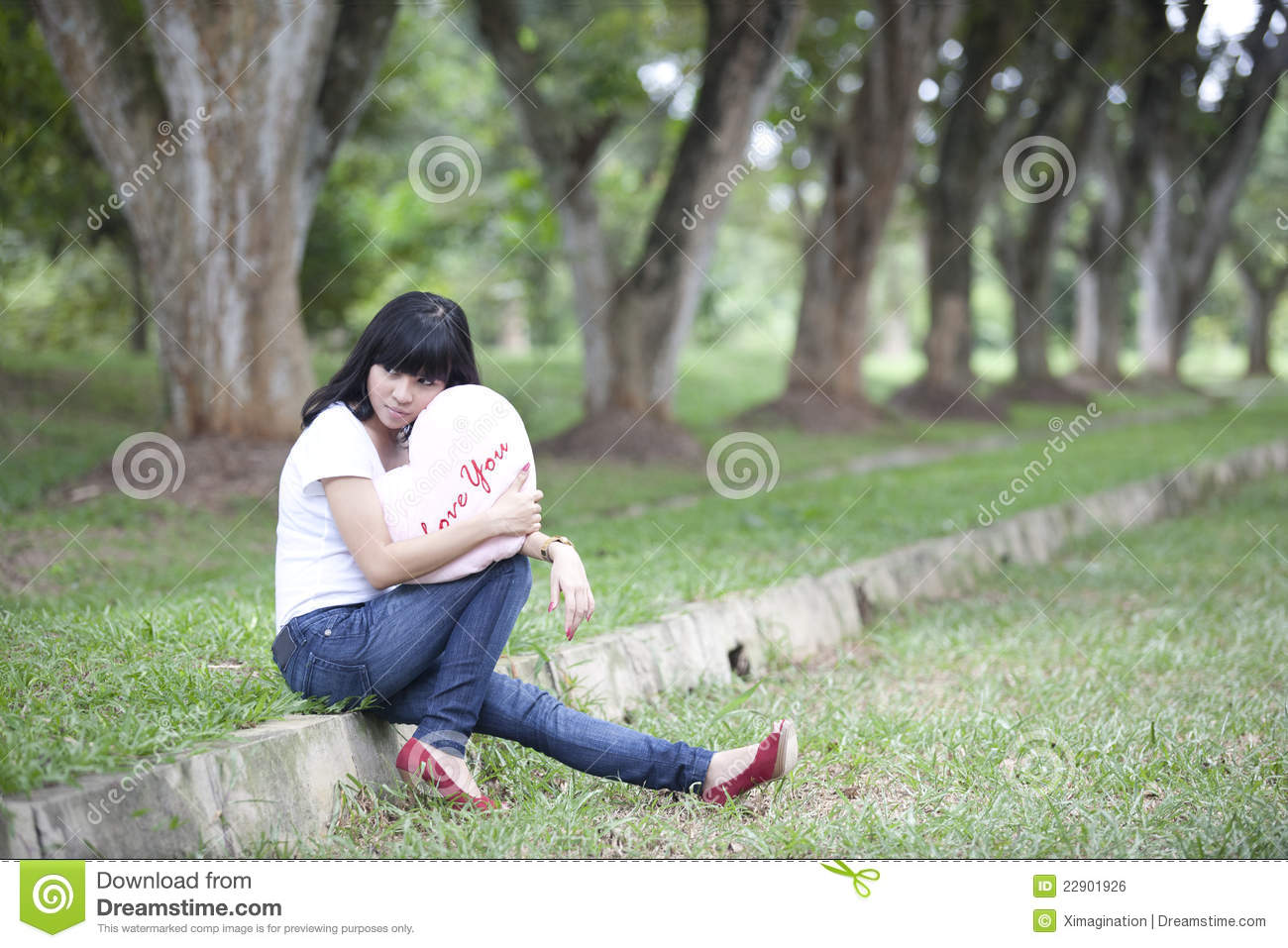 Waiting For Love Stock Photo Image Of Model People 22901926