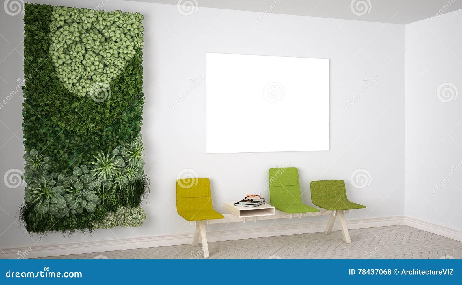 Waiting Room Interior Design Stock Illustration Illustration 78437068