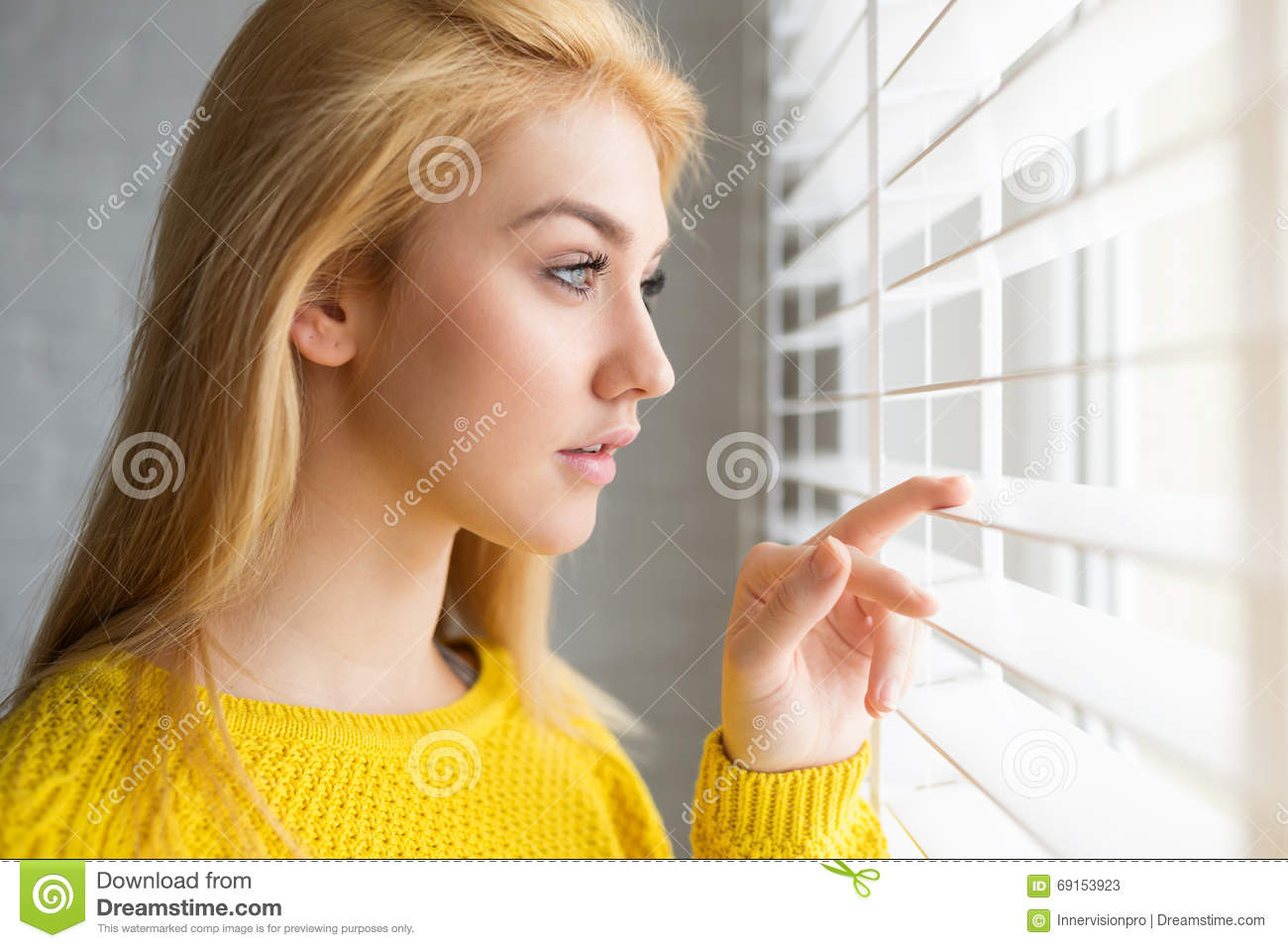 Waiting For Someone Important Stock Image