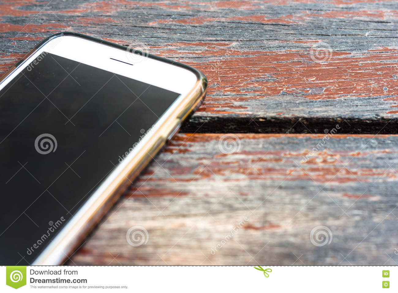 Waiting For Someone To Call Stock Photo - Image: 74990086