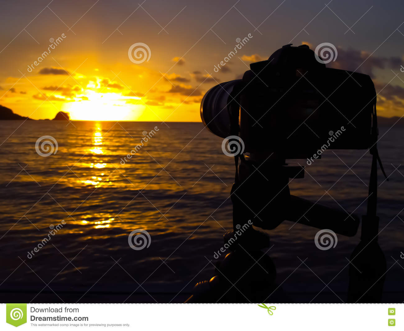 Waiting for sunset