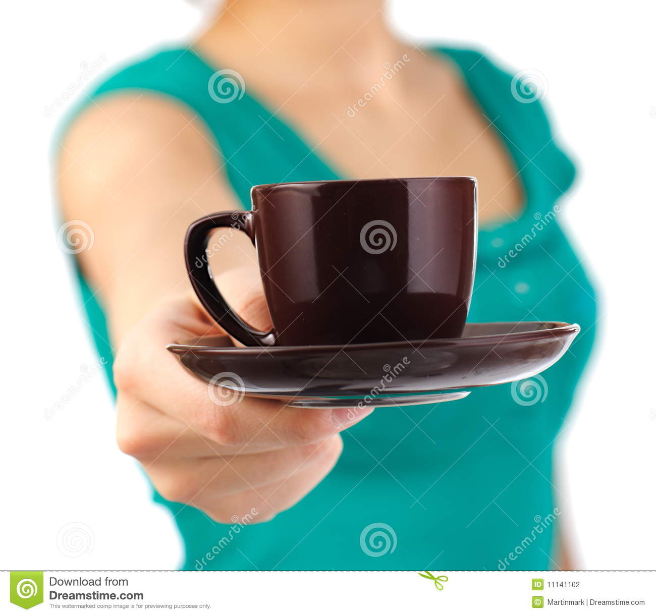 girl serving coffee stock photos images  pictures   images - waitress serving coffee stock photography