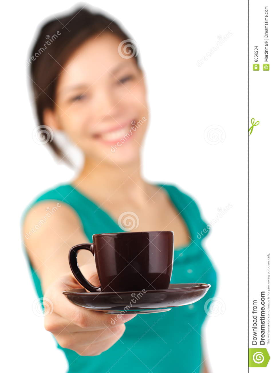 waitress serving coffee stock images  image  - waitress serving coffee