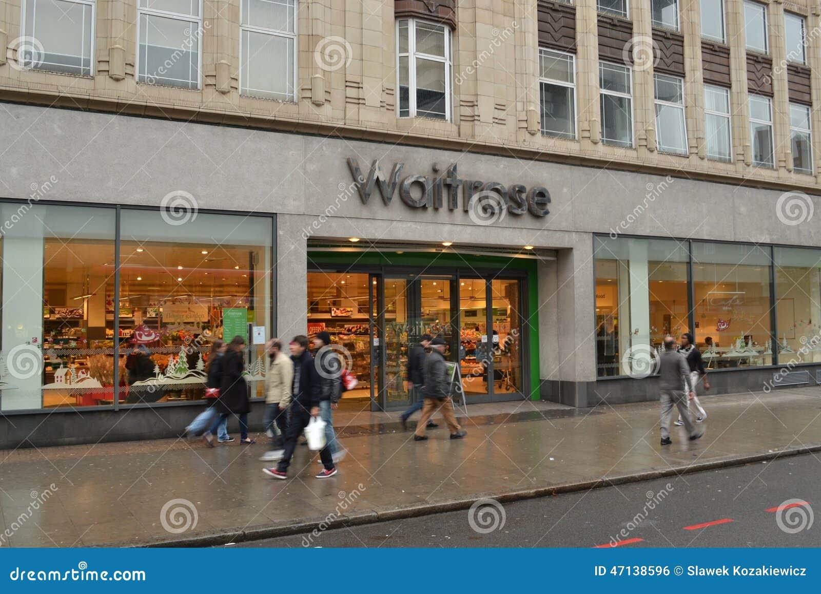 Waitrose Store London Editorial Photo Image Of John 47138596