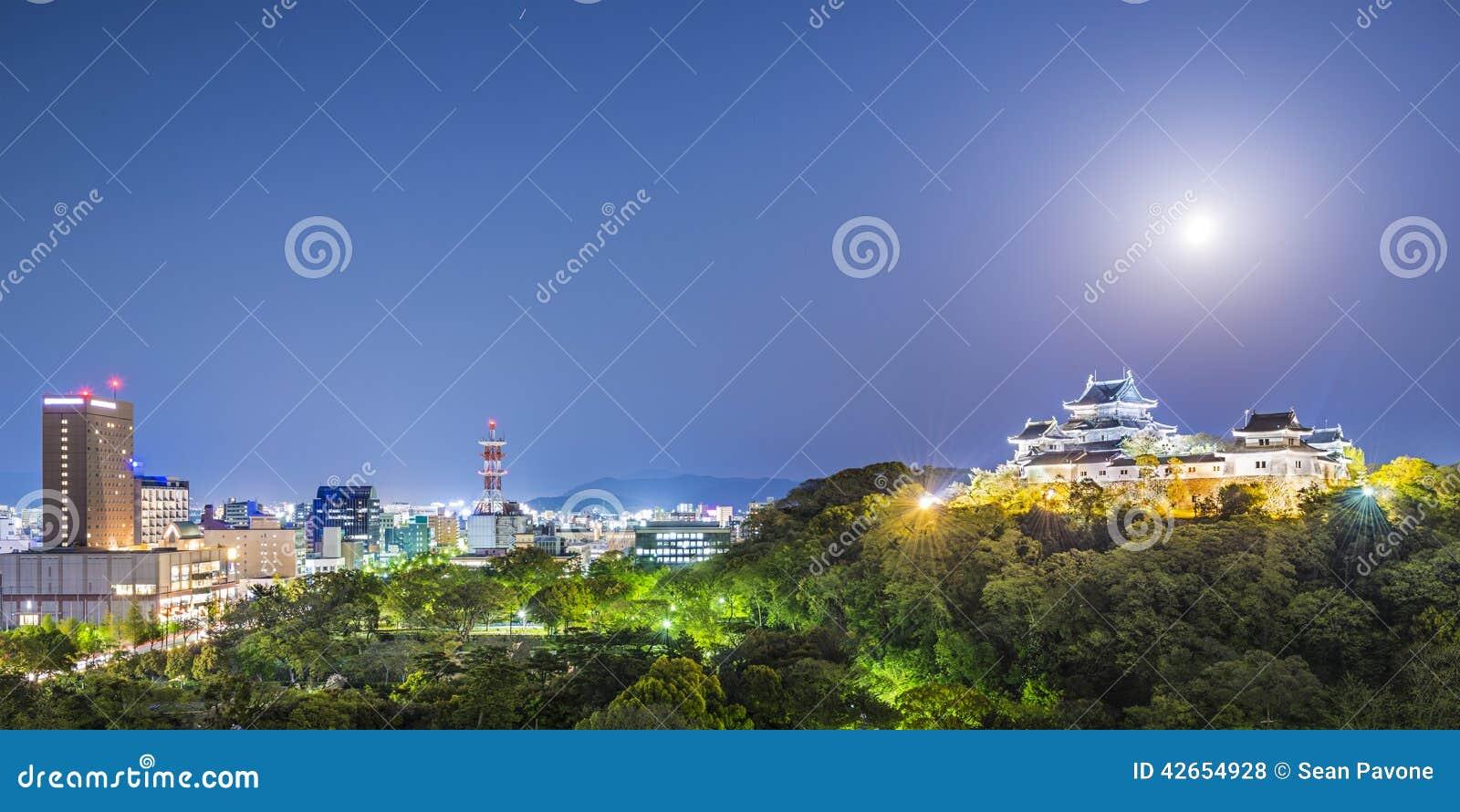 Wakayama stad, Japan