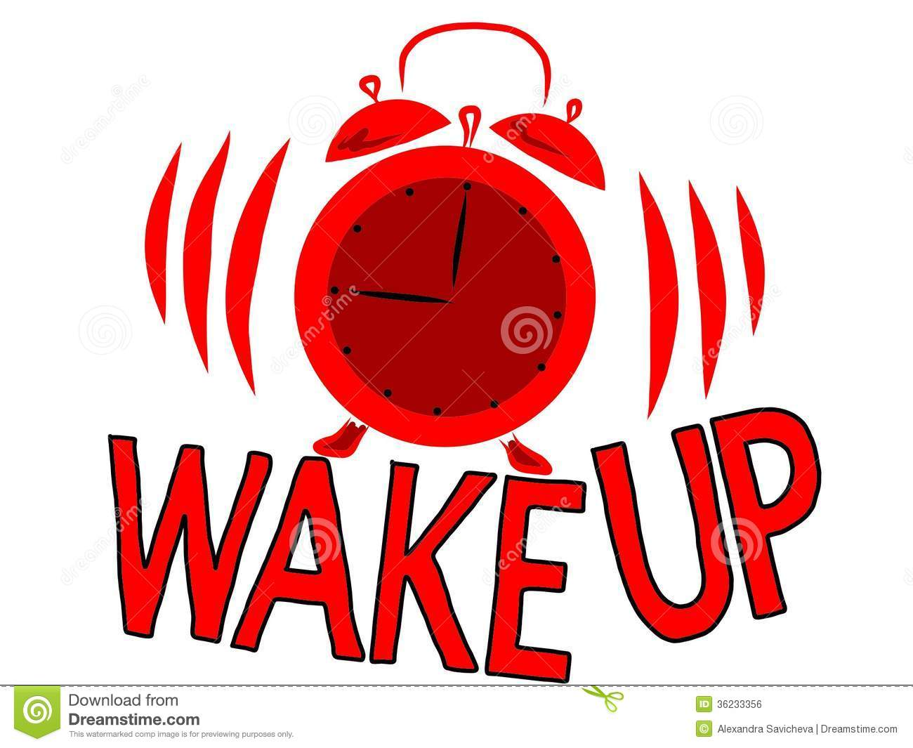wake up stock illustration illustration of bell  accuracy waking up clipart funny waking up clipart images