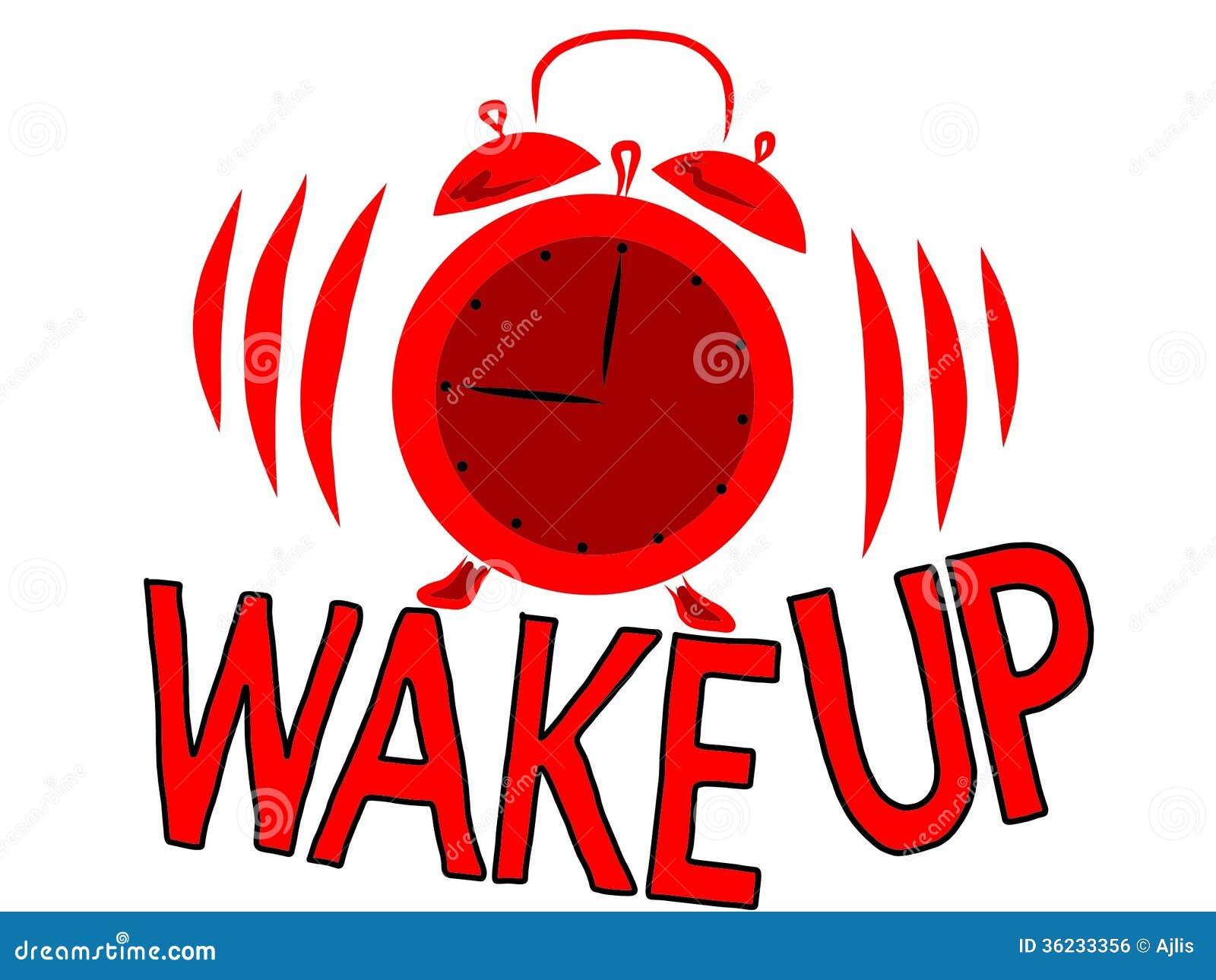 Wake Up Royalty Free Stock Image - Image: 36233356
