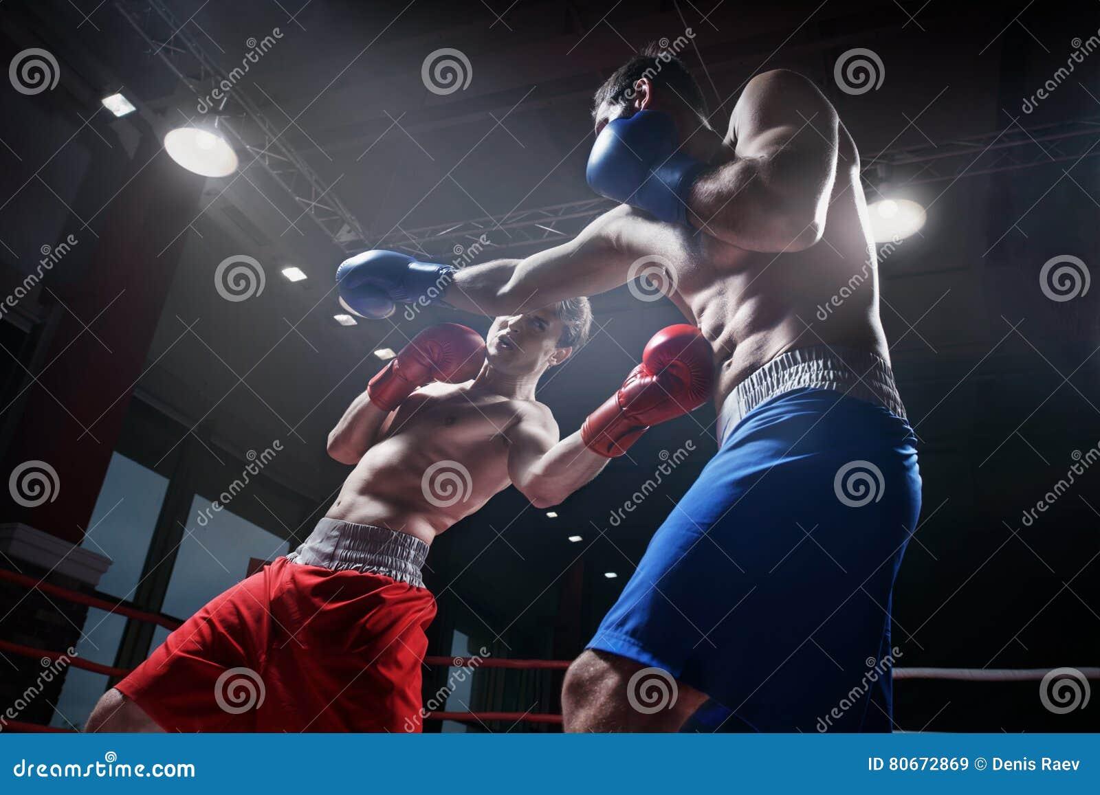 Walczyć w bokserskim pierścionku