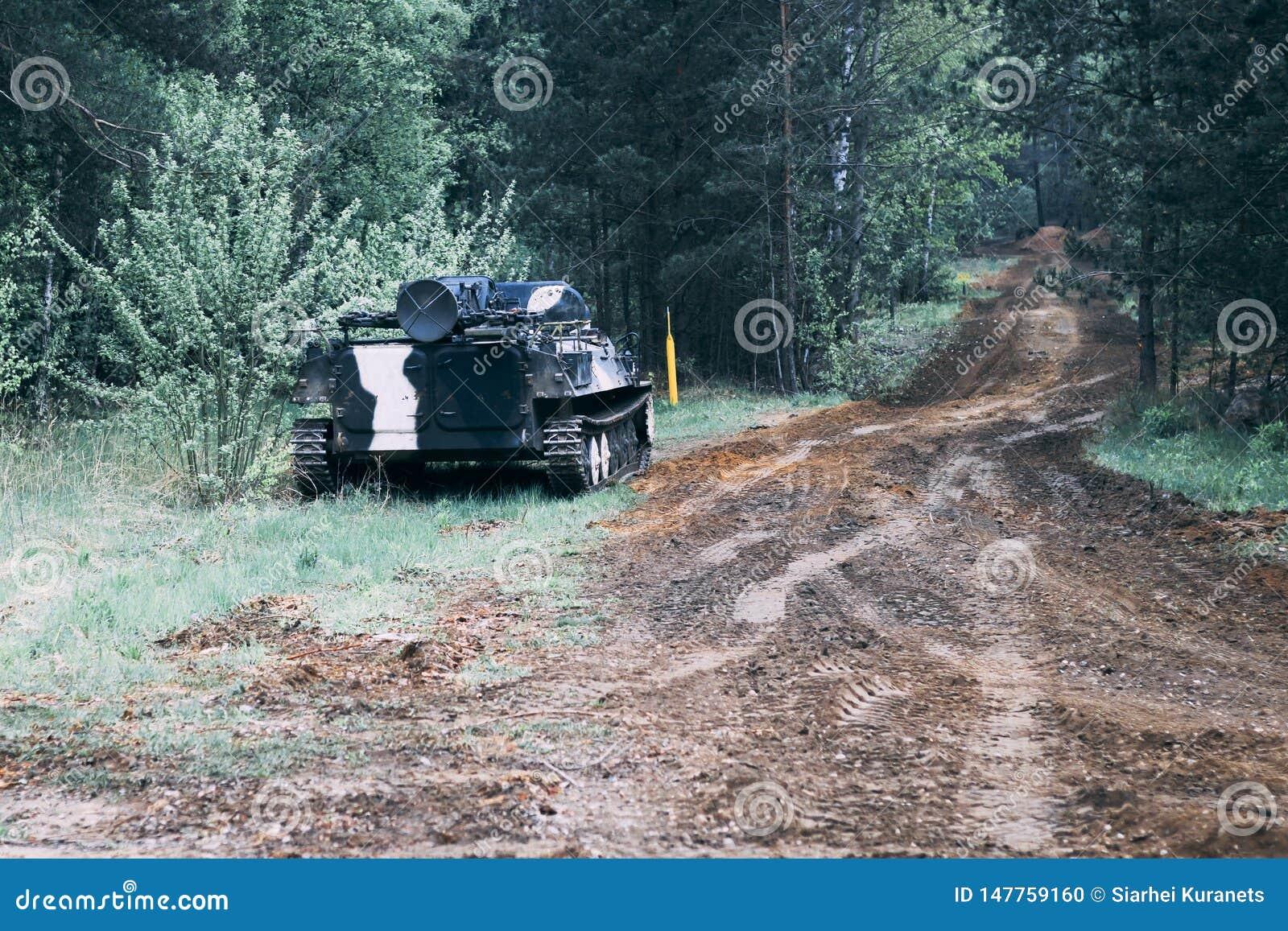 Wald wert Infanteriekampffahrzeug Stra?enanteil der milit?rischer Ausr?stung haben Sie das Tonen