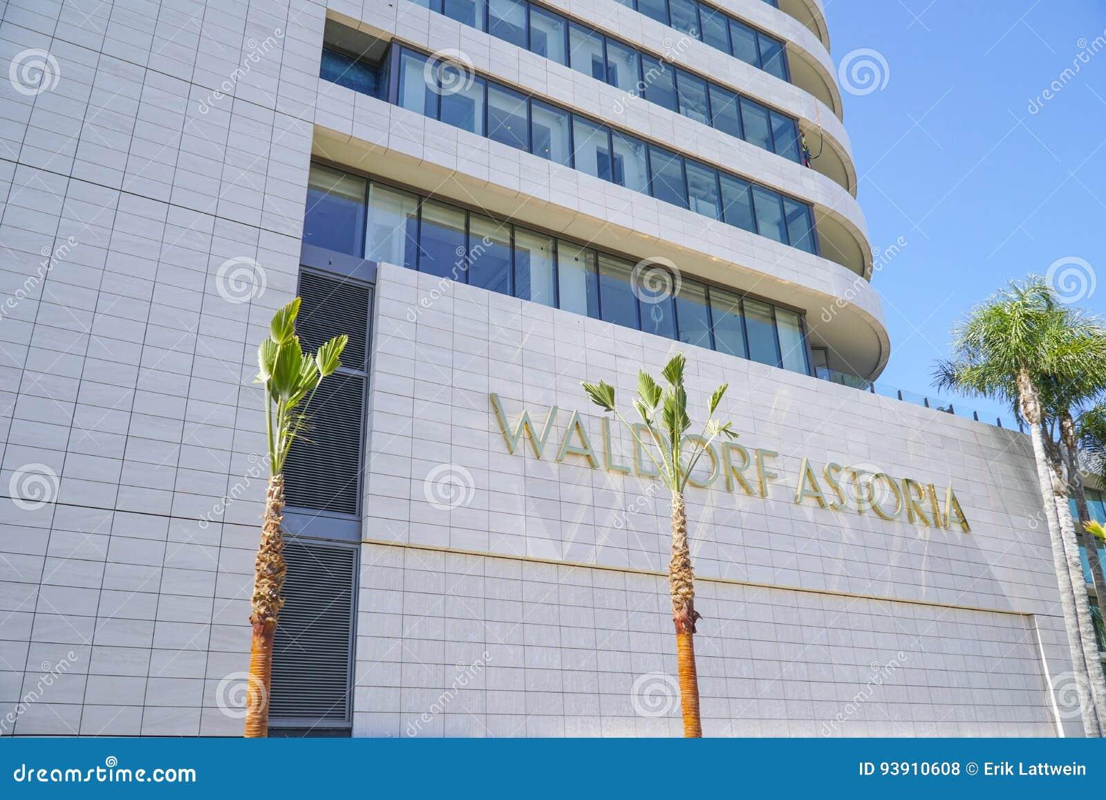- 20, 2017 Waldorf Astoria hotel w Beverly Hills, LOS ANGELES, KALIFORNIA, KWIETNIU -