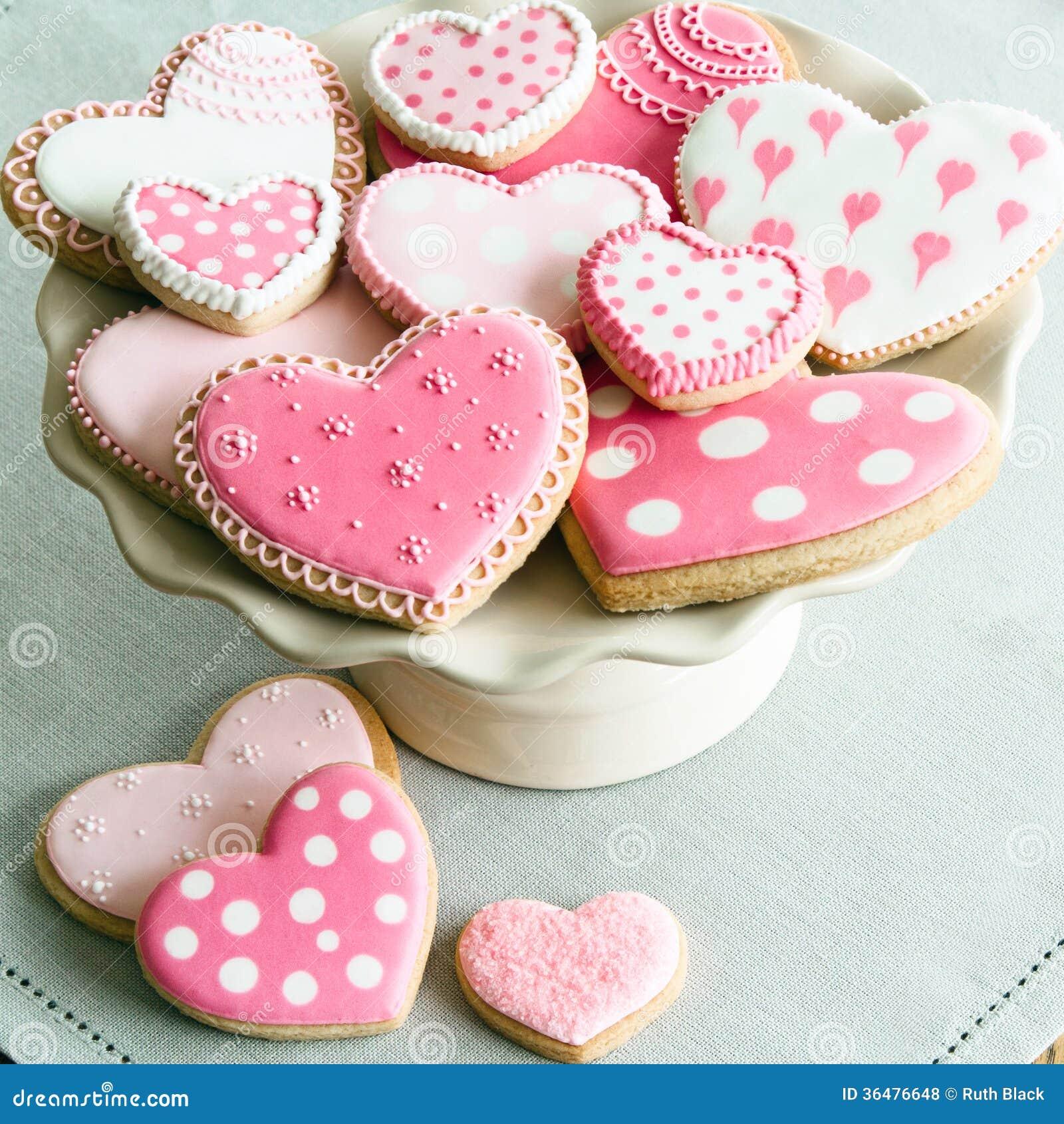 Walentynek ciastka