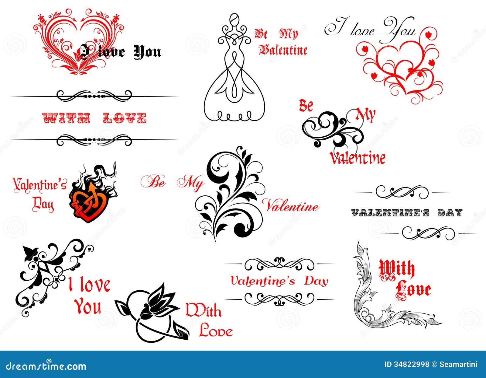 Walentynka dnia chodnikowowie i symbole