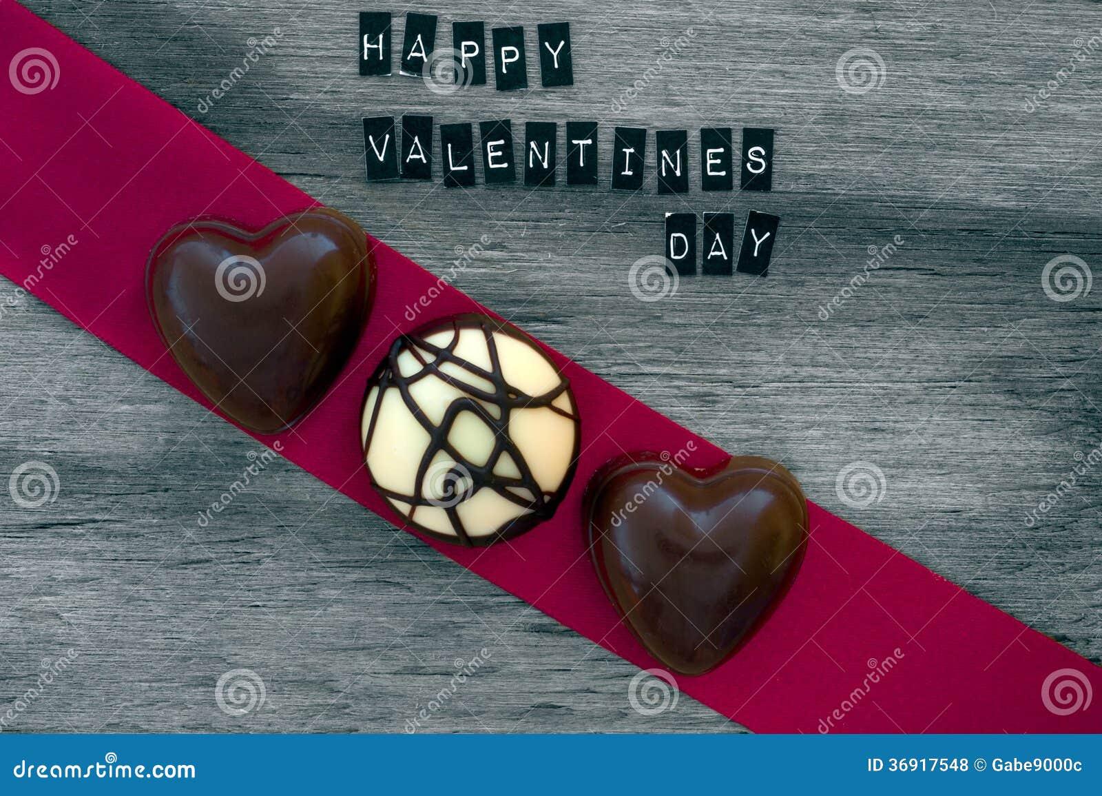 Walentynka dnia czekolad tło