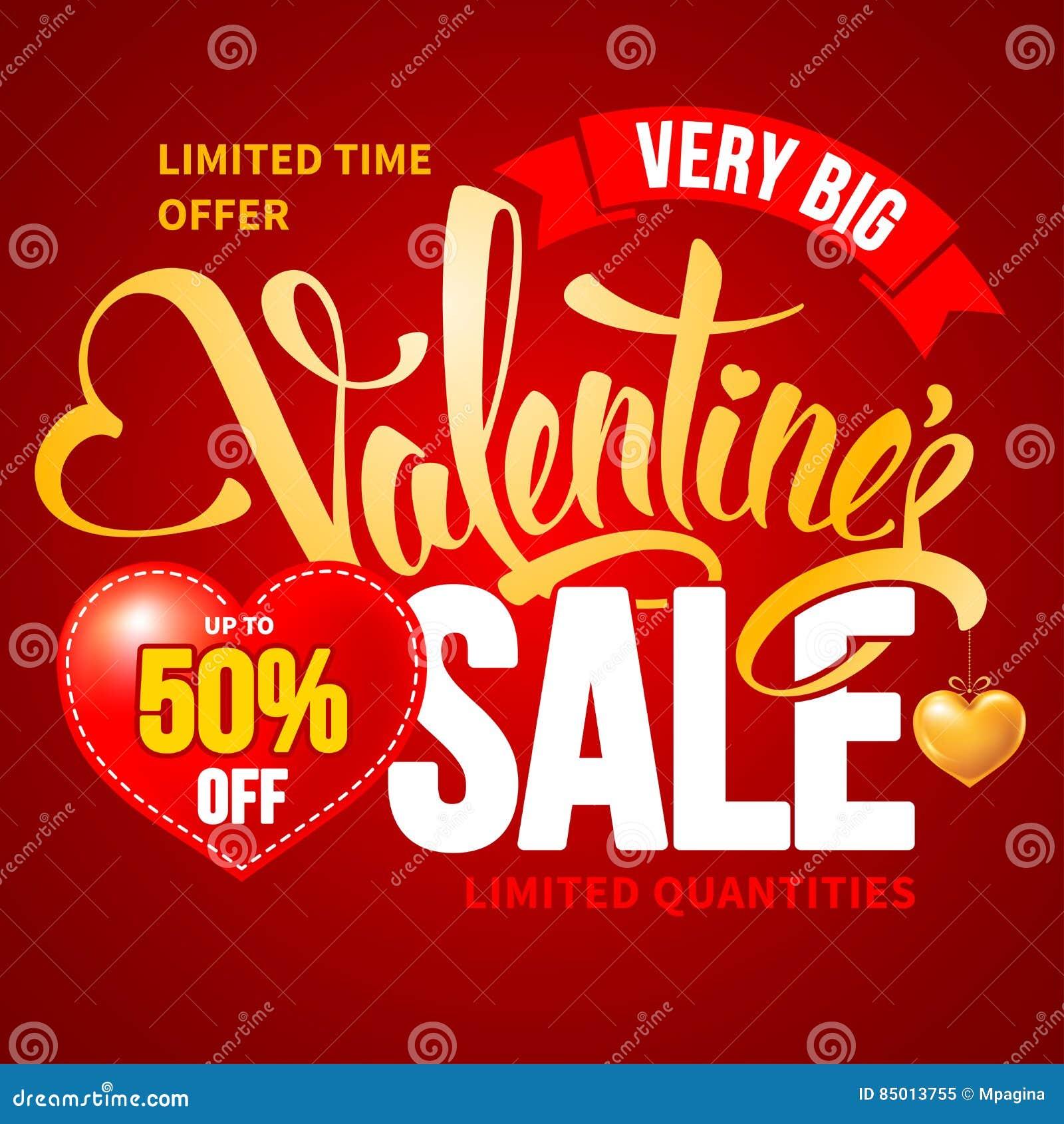 Walentynka dnia sprzedaż