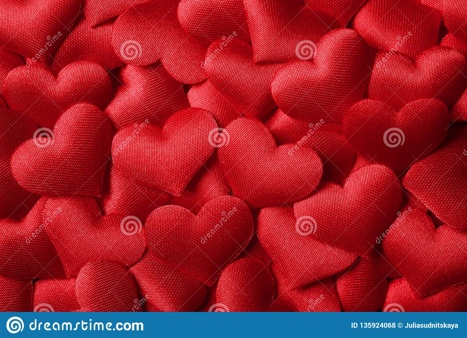 Walentynka dnia tło z czerwonymi sercami