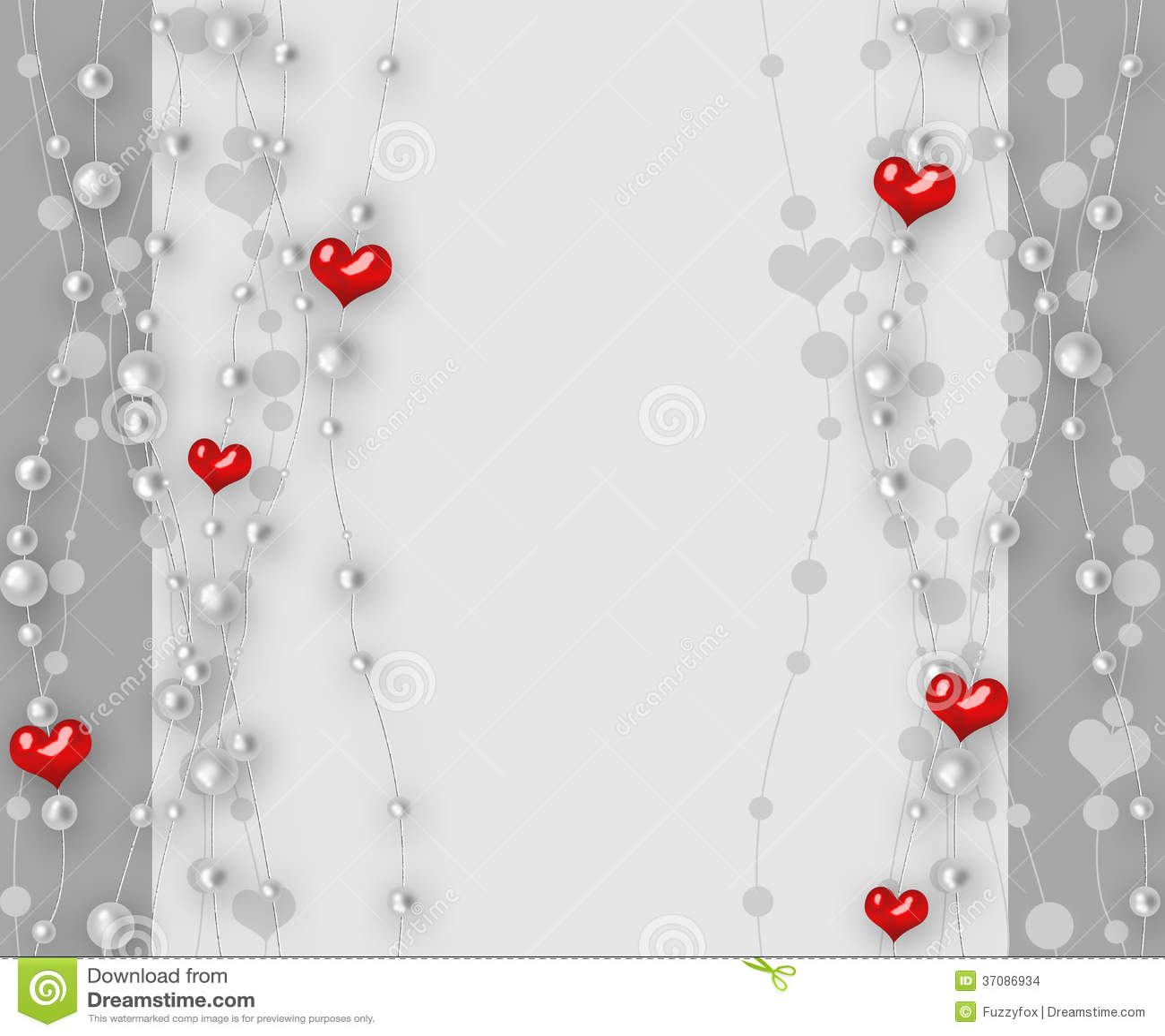 Download Walentynka Dnia Tło Z Sercami I Perłą Ilustracji - Ilustracja złożonej z zaproszenie, teraźniejszość: 37086934