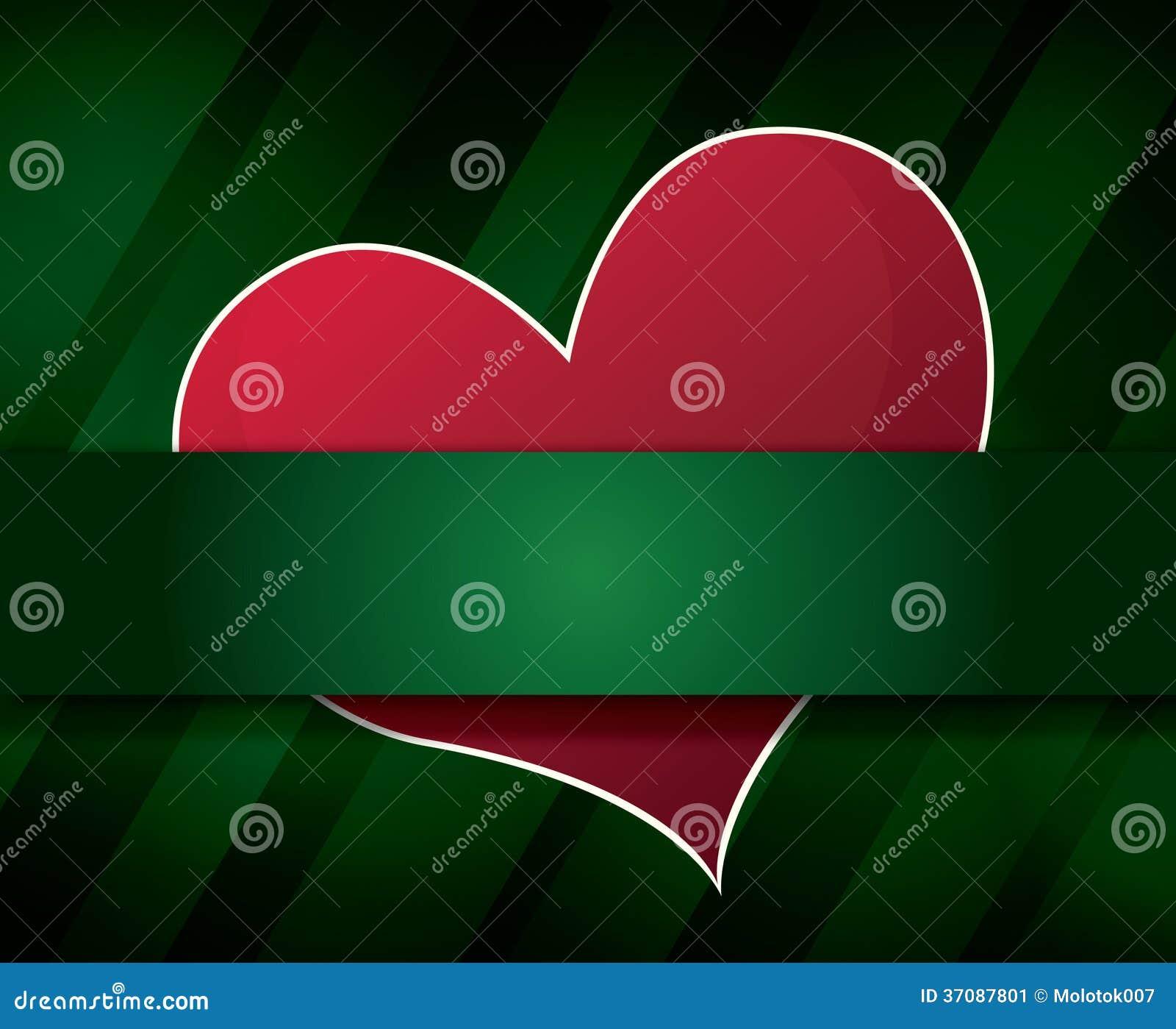 Download Walentynka Dnia Tło Z Sercem Ilustracja Wektor - Ilustracja złożonej z odchodowy, szczęśliwy: 37087801