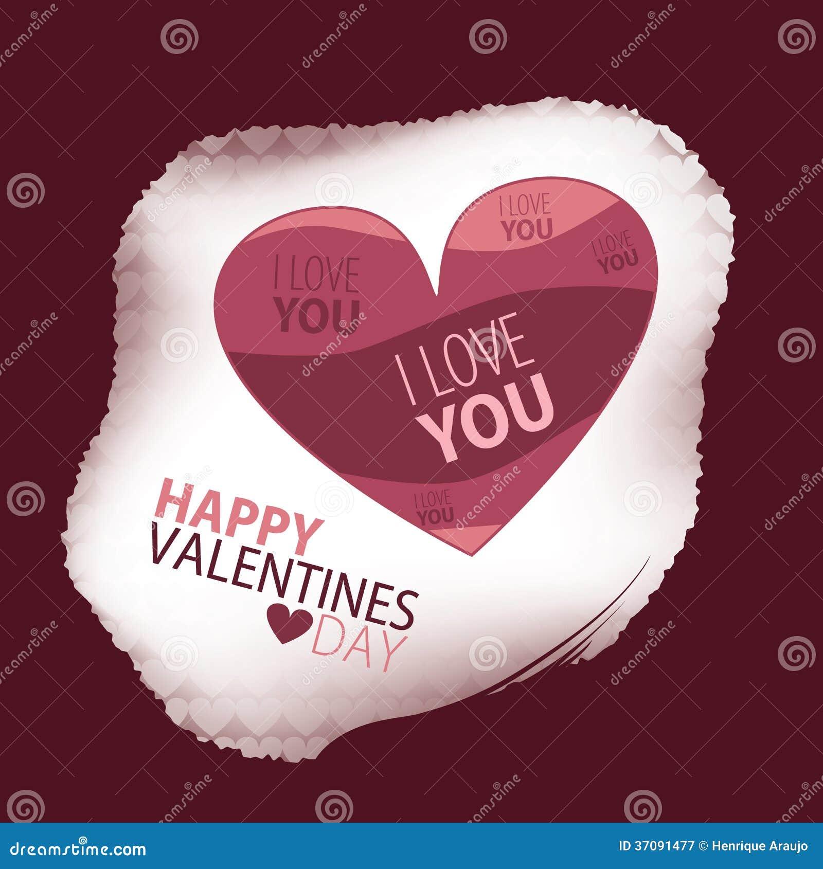 Download Walentynka dzień ilustracja wektor. Ilustracja złożonej z heart - 37091477