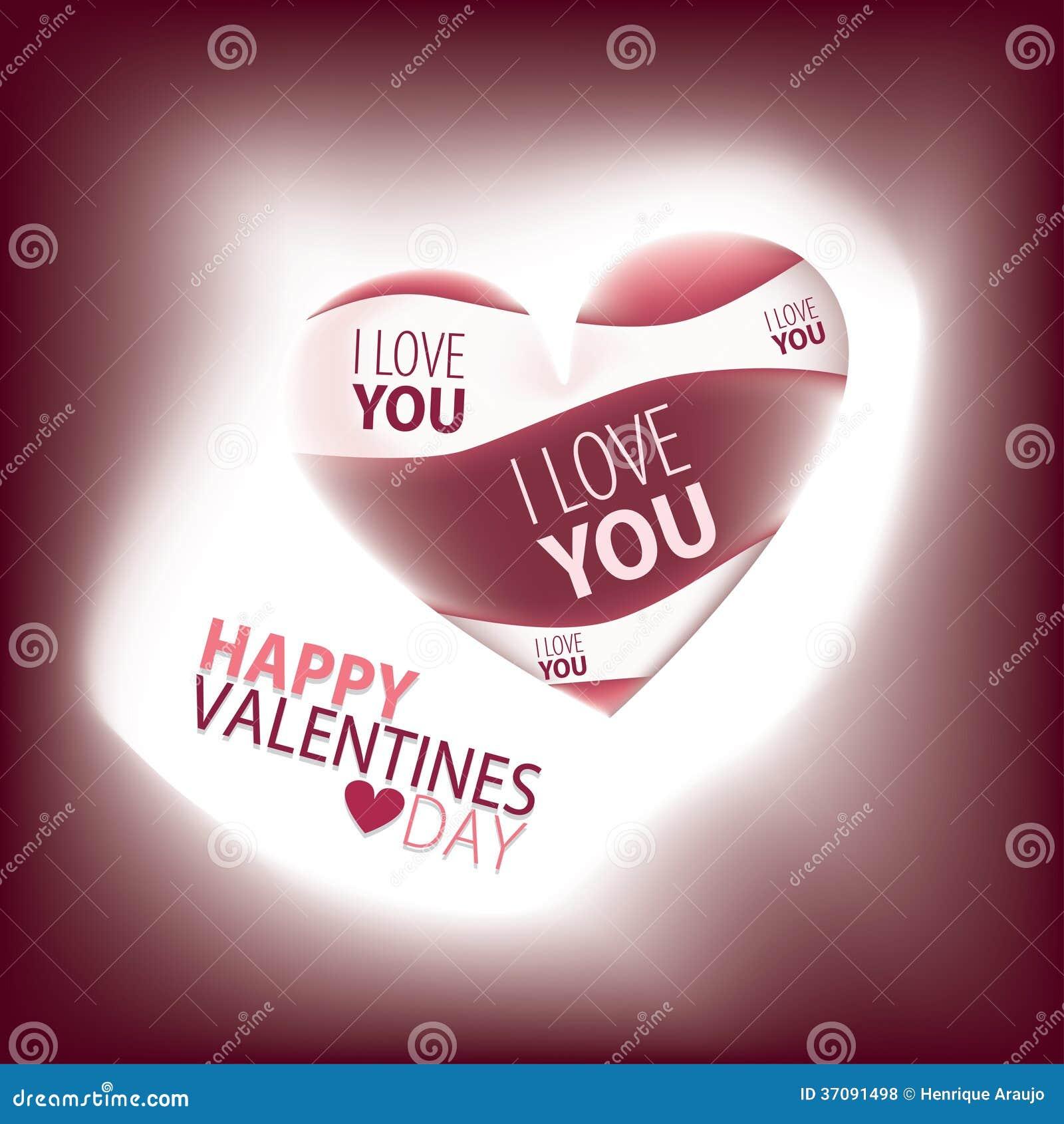 Download Walentynka dzień ilustracja wektor. Ilustracja złożonej z sztandar - 37091498