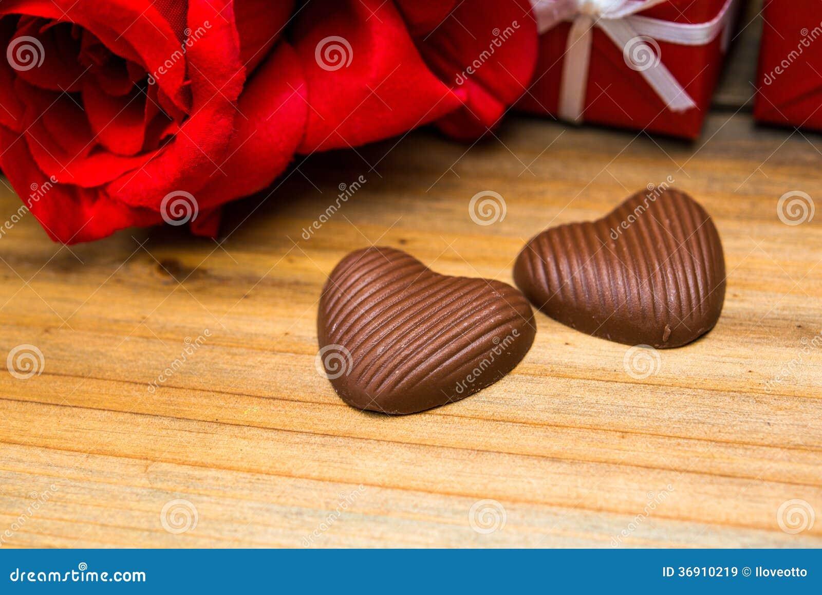 Walentynki czekolada