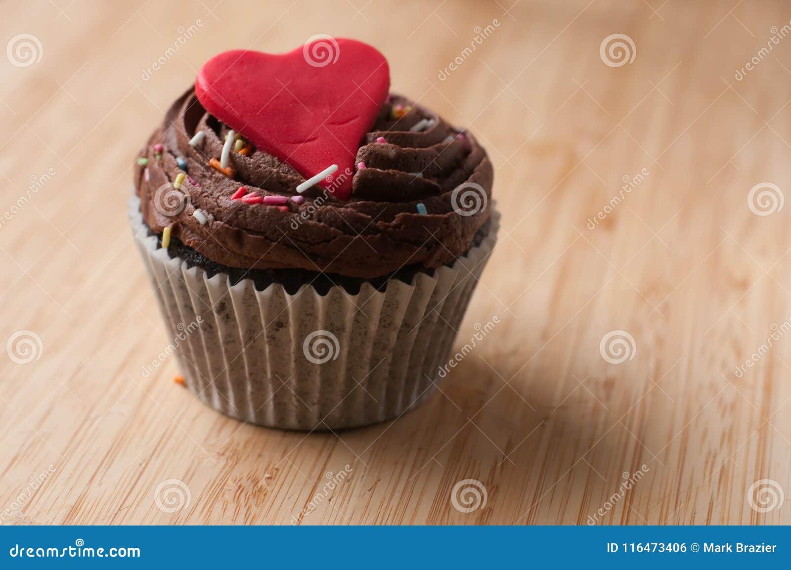 Walentynki filiżanki tort domowej roboty