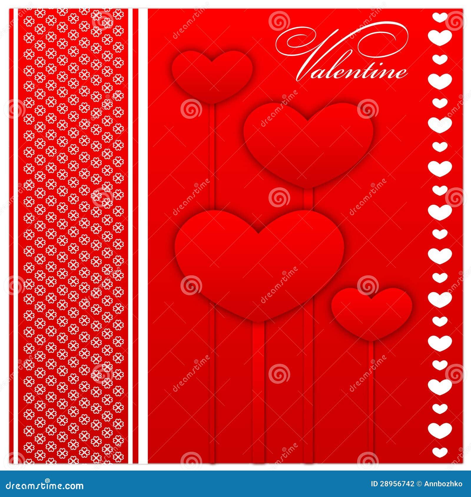 Walentynki pielenia i dnia karty