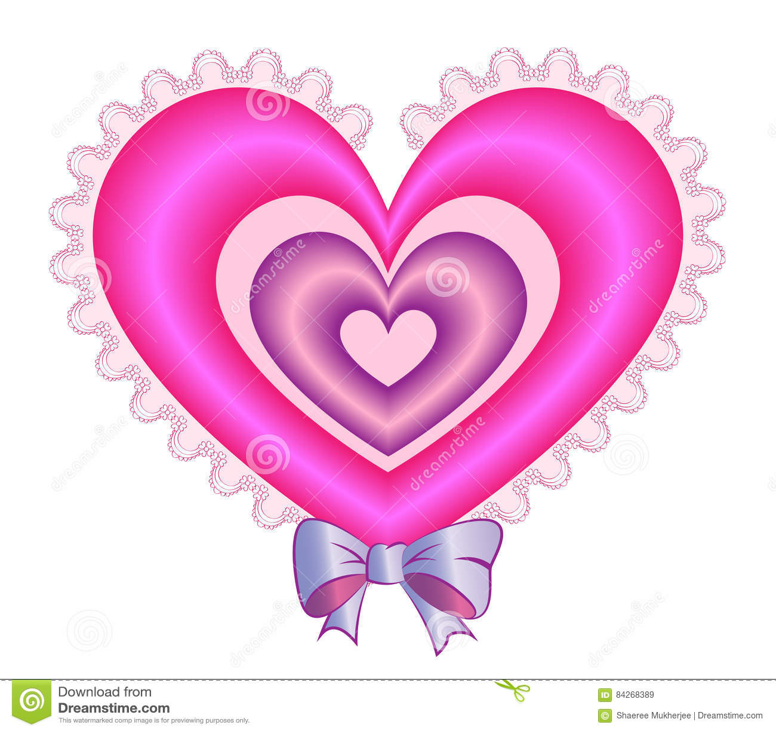 Walentynki Poduszki Serce Obraz Stock Ilustracja Złożonej Z