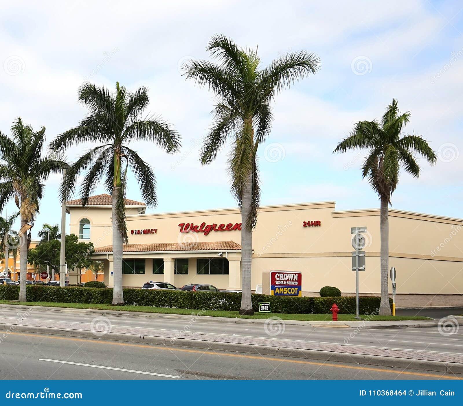 Walgreens Narkotyzuje witrynę sklepową w Floryda