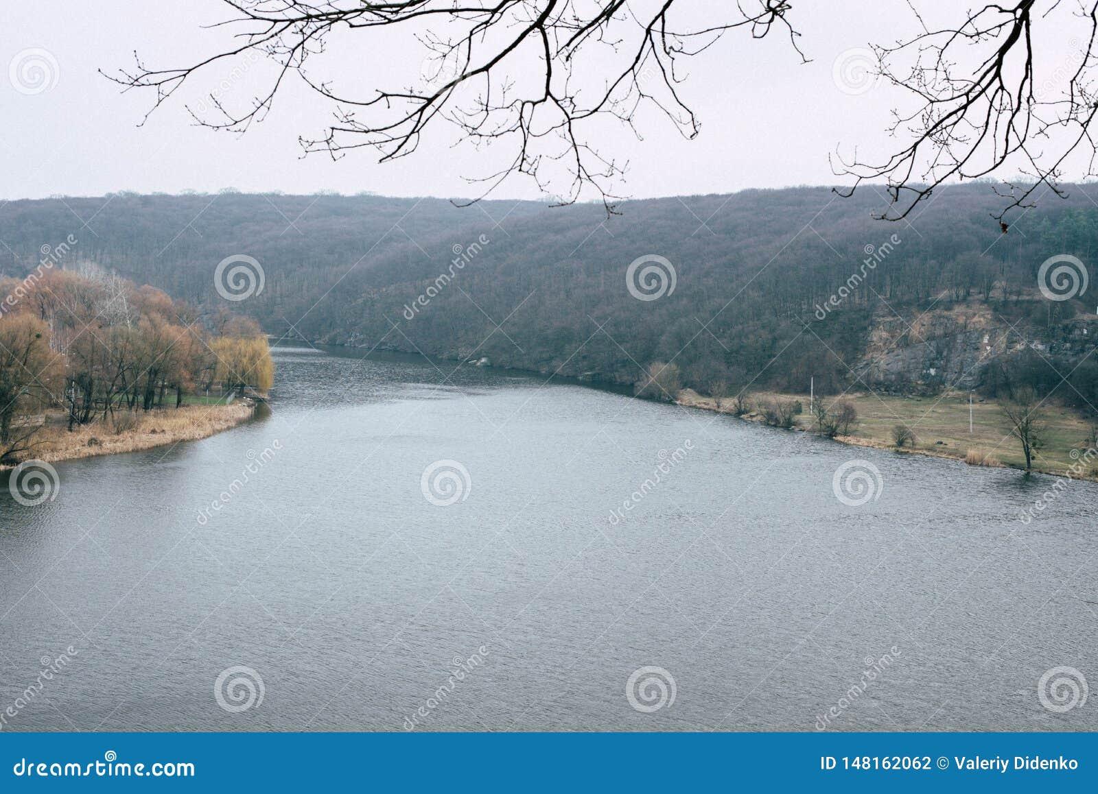 Walk around the Southern Bug River, Ukraine